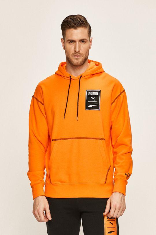 portocaliu Puma - Bluza De bărbați