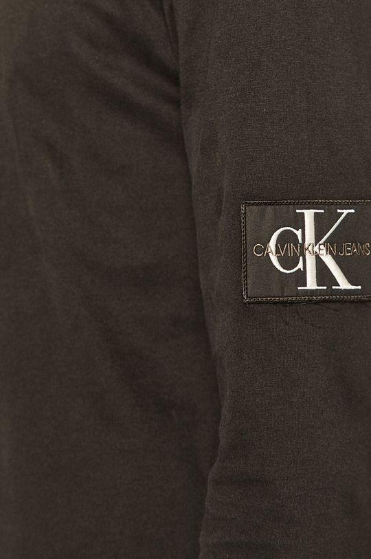 Calvin Klein Jeans - Pánske tričko s dlhým rukávom Pánsky