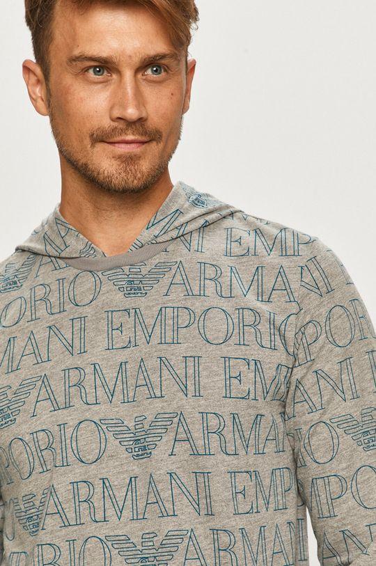 szary Emporio Armani - Bluza