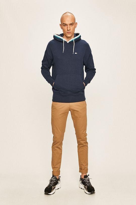 Tommy Jeans - Bluza bleumarin
