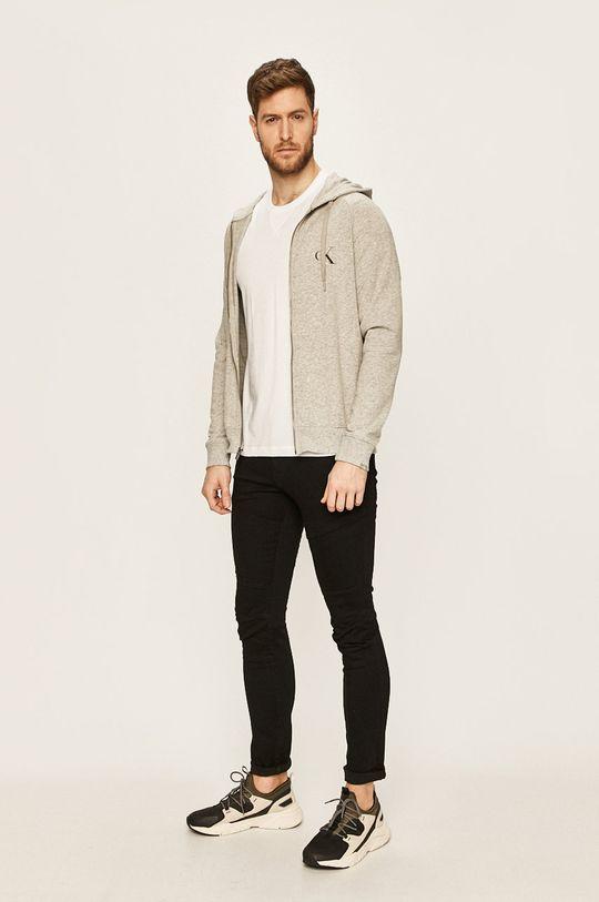 Calvin Klein Underwear - Mikina světle šedá