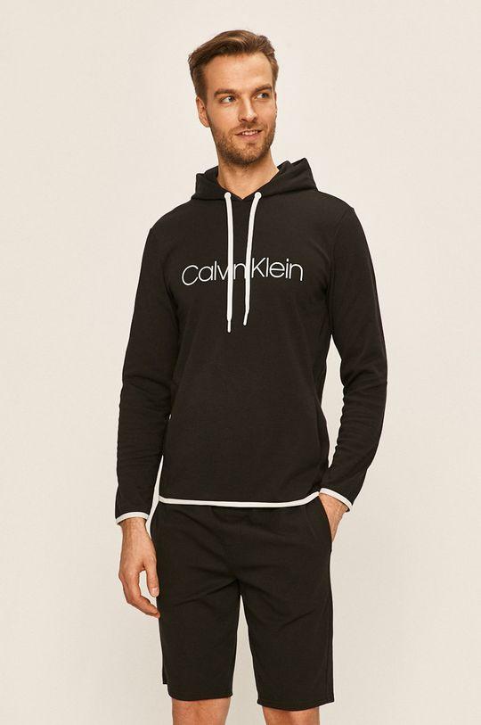 černá Calvin Klein Underwear - Mikina Pánský