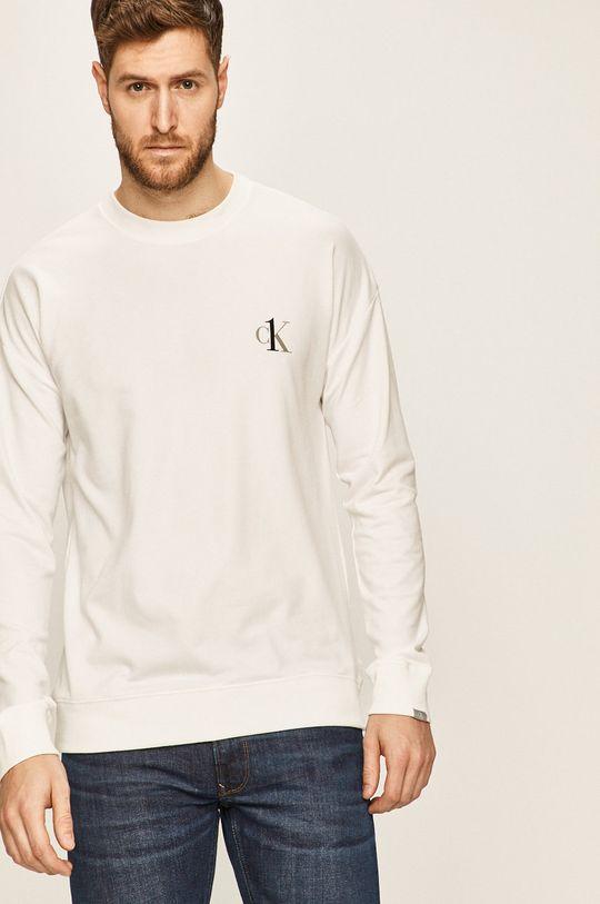 alb Calvin Klein Underwear - Bluza De bărbați
