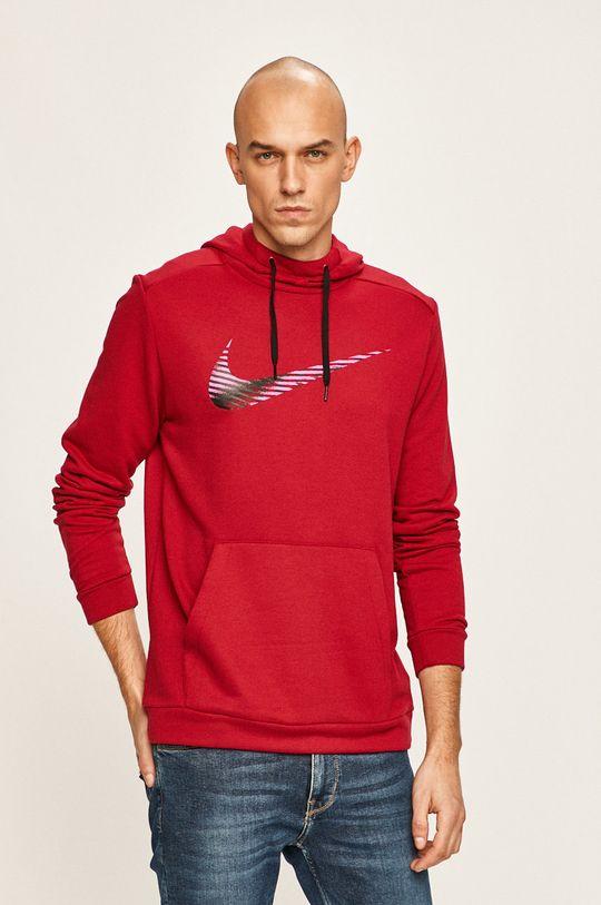 červená Nike - Mikina Pánský