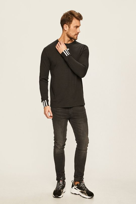 adidas Originals - Tričko s dlouhým rukávem černá