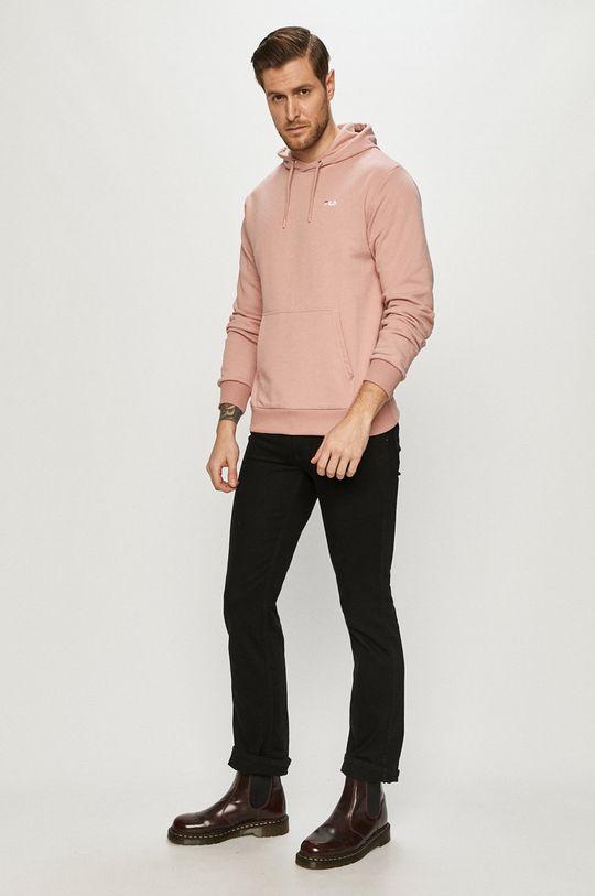 Fila - Bluza fiołkowo różowy