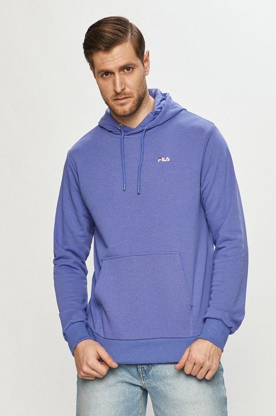 niebieski FILA - Bluza 688163 Męski
