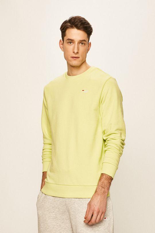 жовто-зелений Fila - Кофта Чоловічий