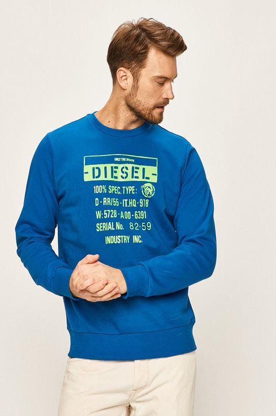 modrá Diesel - Mikina Pánský