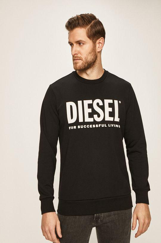 černá Diesel - Mikina Pánský