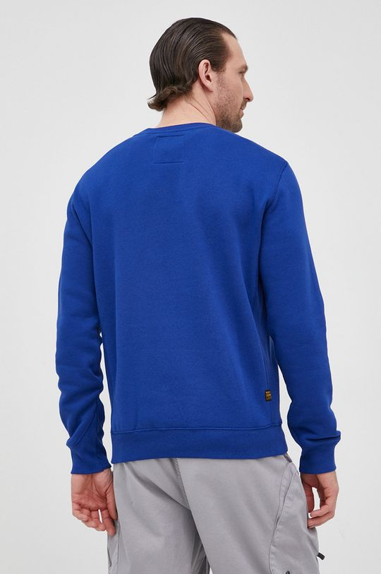 G-Star Raw - Bluza Materialul de baza: 55% Bumbac, 45% Poliester reciclat banda elastica: 58% Bumbac, 3% Elastan, 39% Poliester
