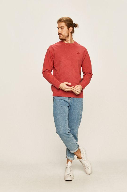 Levi's - Bluza czerwony