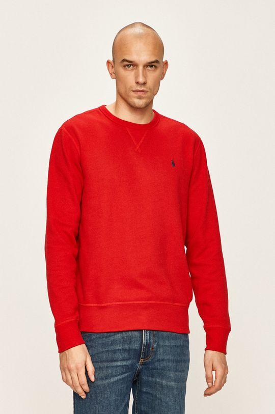červená Polo Ralph Lauren - Mikina Pánský