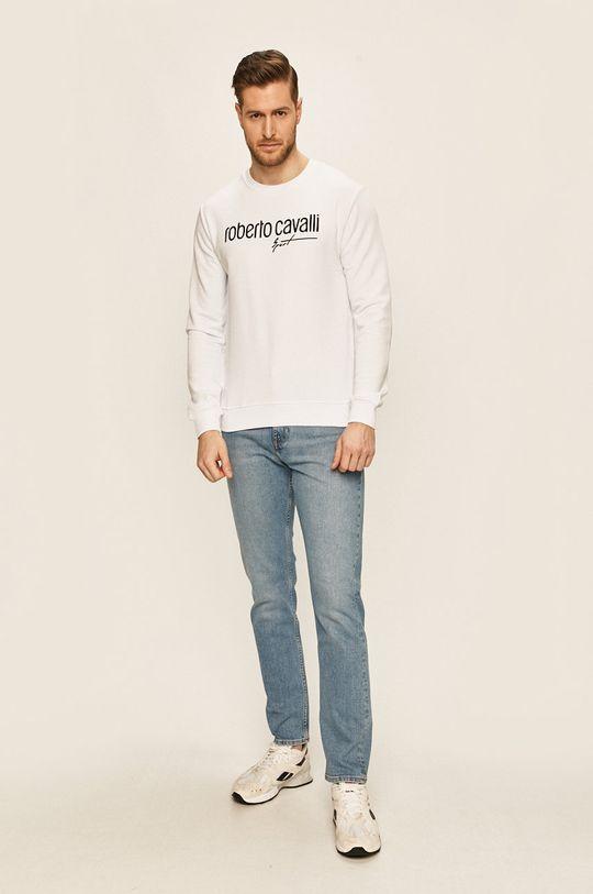 Roberto Cavalli Sport - Bluza biały