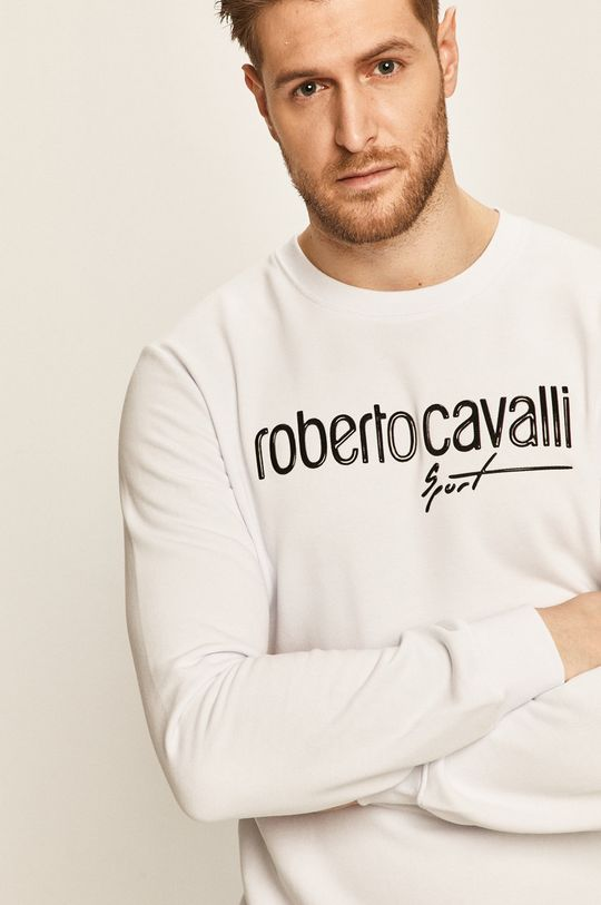 biały Roberto Cavalli Sport - Bluza