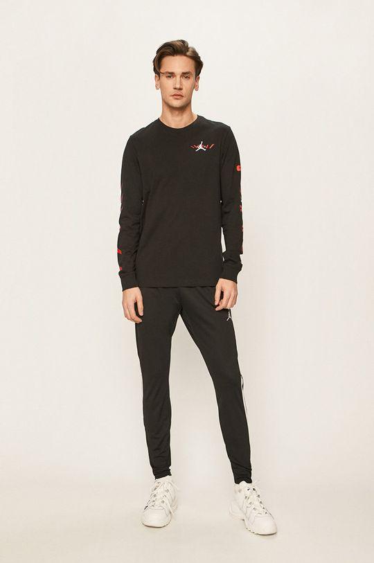 Jordan - Pánske tričko s dlhým rukávom čierna