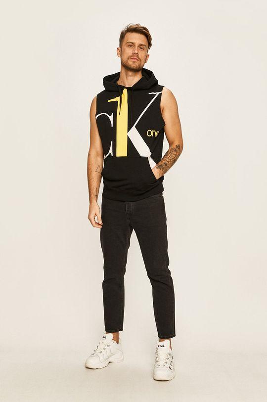Calvin Klein Jeans - Mikina CK One čierna