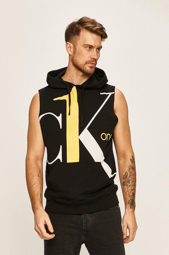 čierna Calvin Klein Jeans - Mikina CK One