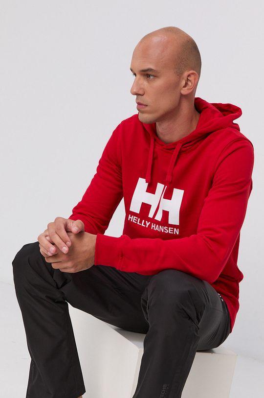 ostry czerwony Helly Hansen - Bluza Męski