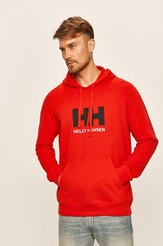czerwony Helly Hansen - Bluza Męski
