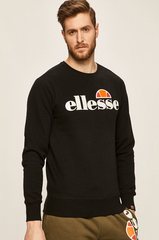 czarny Ellesse - Bluza