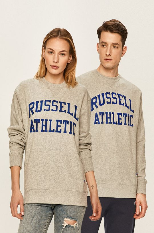 světle šedá Russell Athletic - Mikina Unisex