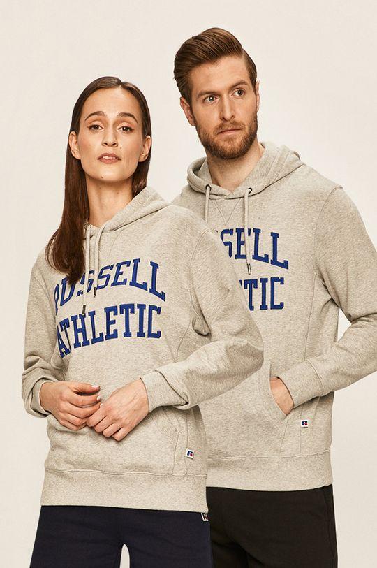 jasny szary Russel Athletic - Bluza Unisex