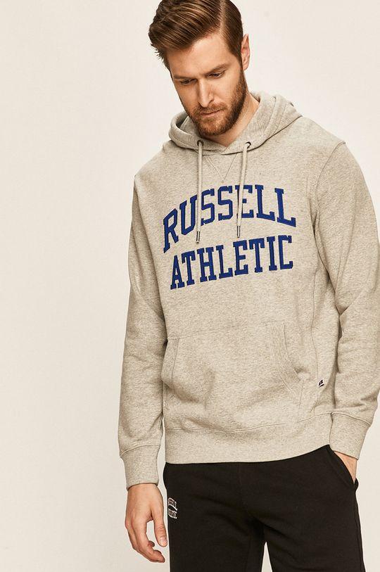 Russel Athletic - Bluza jasny szary