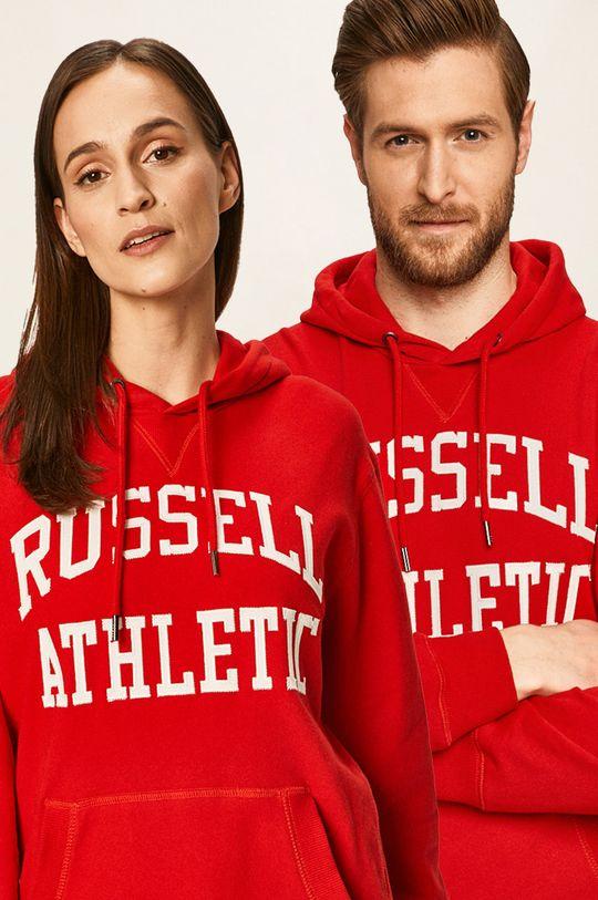 červená Russell Athletic - Mikina Unisex