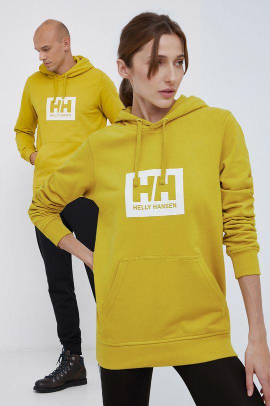 żółty Helly Hansen - Bluza bawełniana Unisex