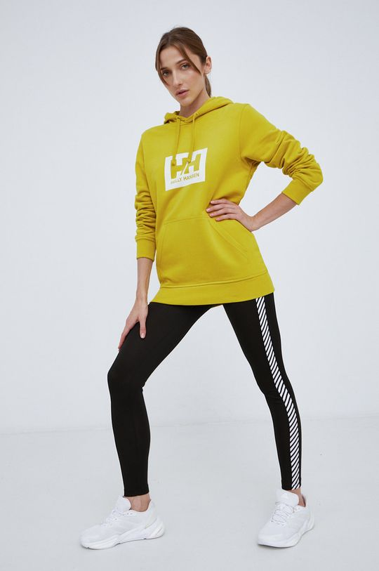 Helly Hansen - Bluza bawełniana żółty