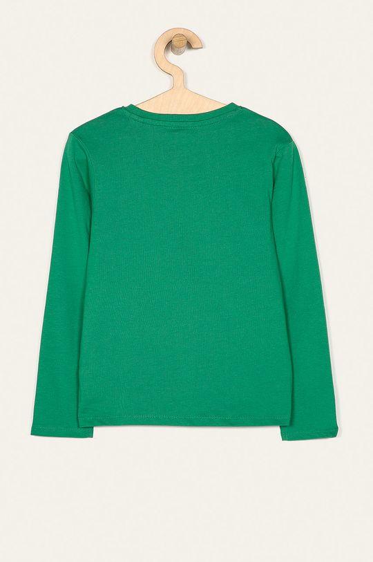 Name it - Dětské tričko s dlouhým rukávem 122-164 cm zelená