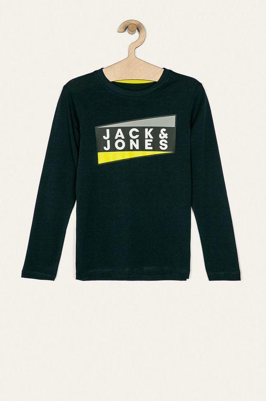 tmavomodrá Jack & Jones - Detské tričko s dlhým rukávom 128-176 cm Chlapčenský