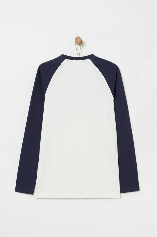 OVS - Detské tričko s dlhým rukávom 146-170 cm biela