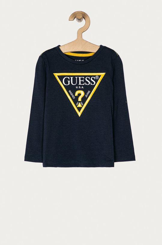 granatowy Guess Jeans - Longsleeve dziecięcy 92-122 cm Chłopięcy