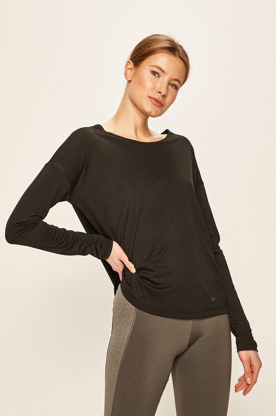 negru Nike - Longsleeve De femei