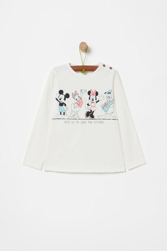 biela OVS - Detské tričko s dlhým rukávom 74-98 cm Dievčenský