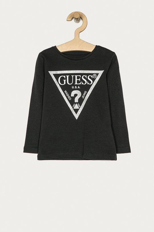negru Guess Jeans - Longsleeve copii 92-116 cm De fete