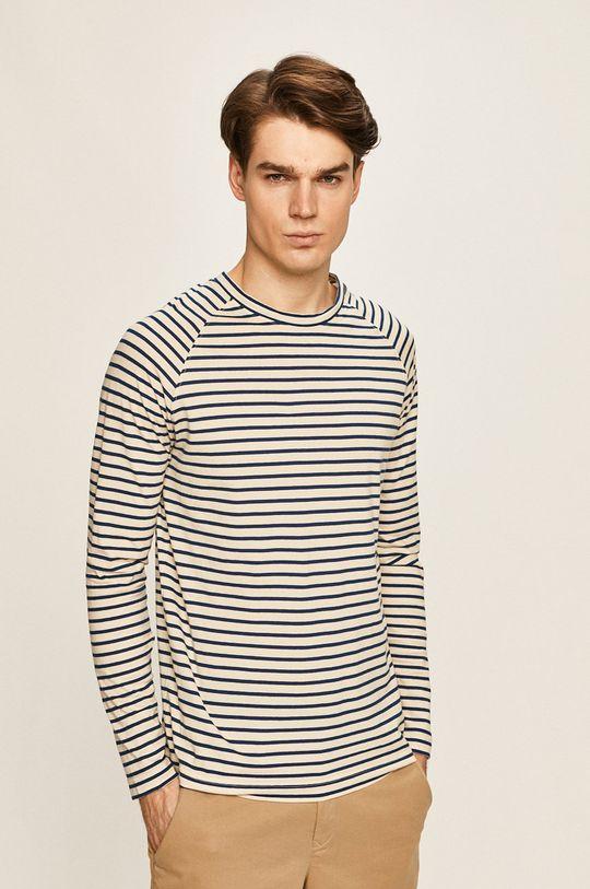 modrá Selected - Pánske tričko s dlhým rúkavom Pánsky