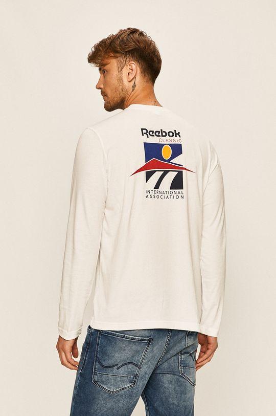 biały Reebok Classic - Longsleeve