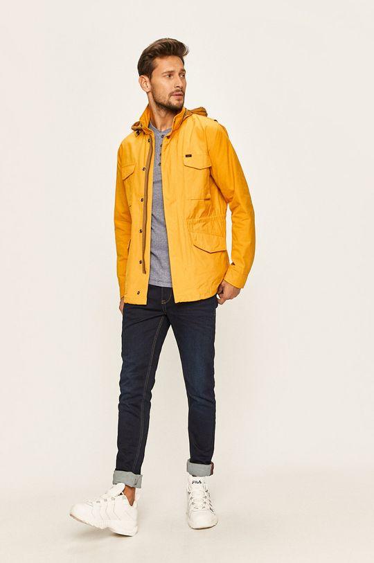 Premium by Jack&Jones - Tričko s dlouhým rukávem modrá