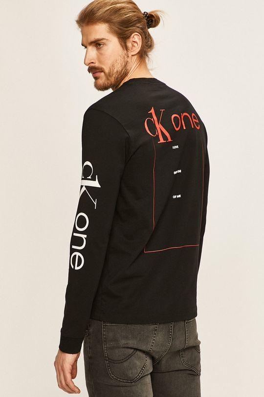 čierna Calvin Klein Jeans - Pánske tričko s dlhým rúkavom CK one Pánsky