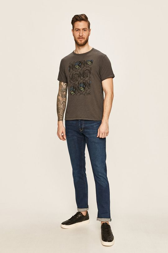 Pepe Jeans - Tricou Stone grafit