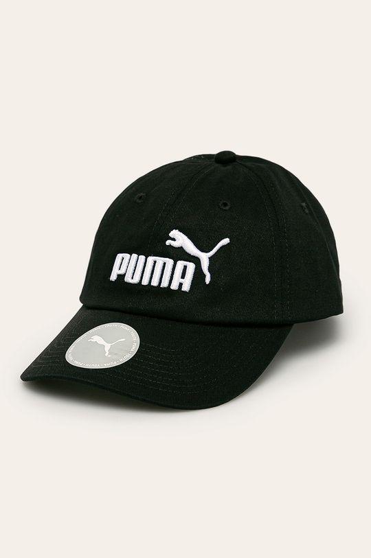 czarny Puma - Czapka Chłopięcy