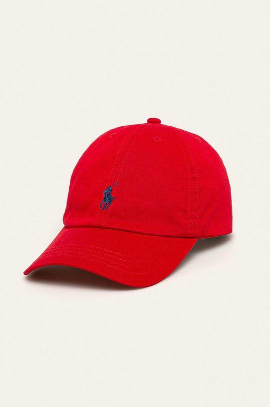 czerwony Polo Ralph Lauren - Czapka Chłopięcy