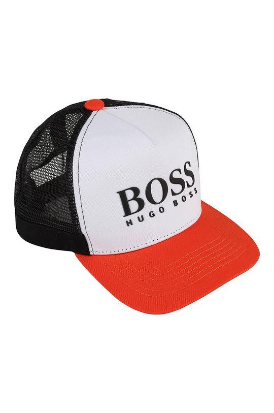 czerwony Boss - Czapka dziecięca Chłopięcy