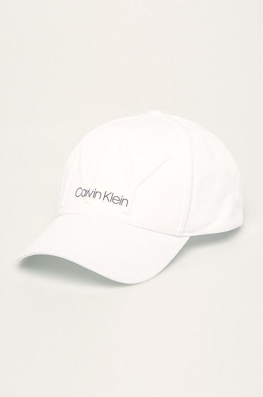 bílá Calvin Klein - Čepice Dámský