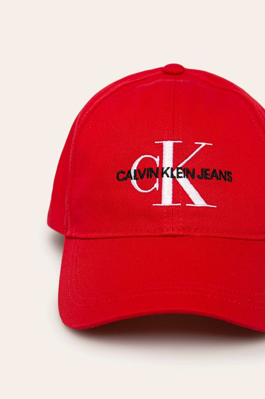 Calvin Klein Jeans - Sapca rosu
