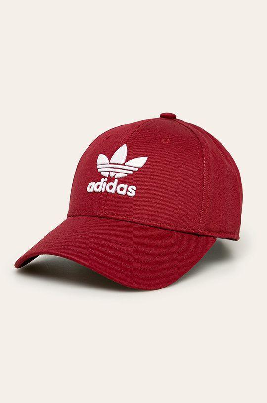 červená adidas Originals - Čepice Dámský