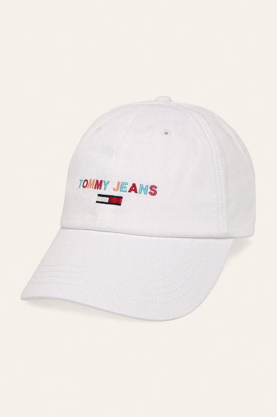 biela Tommy Jeans - Čiapka Dámsky